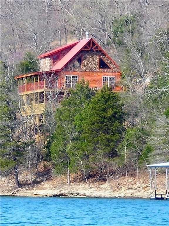 eureka mountain lakefront in shore top deluxe beaver rentals log cabin cabins springs ar lodging lake units