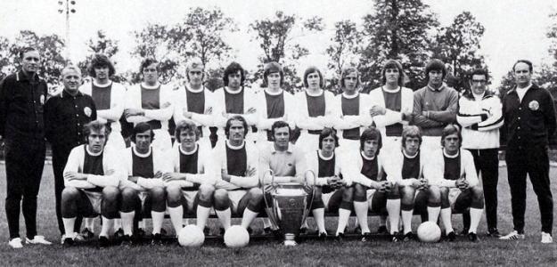 Johan Cruyff Bastó Para Llevarse La Final De 1972 Johan Cruyff Bastilla Ajax De ámsterdam
