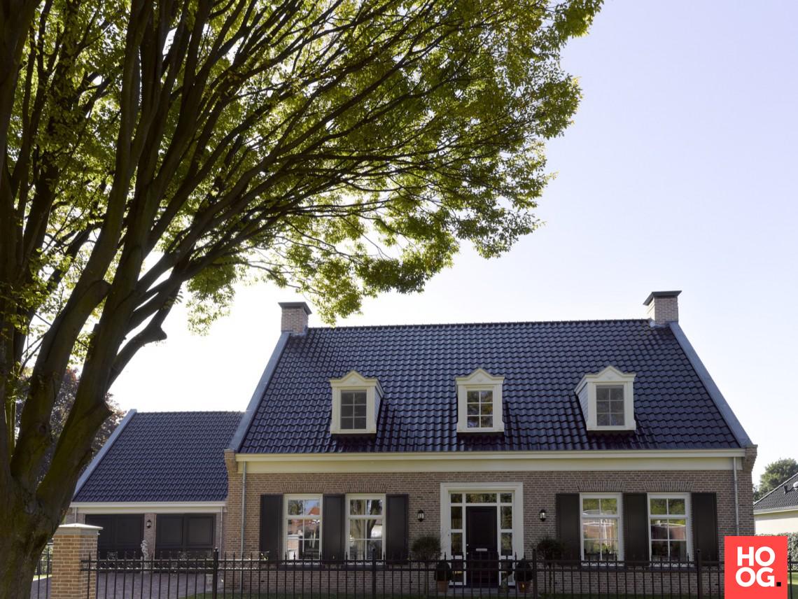 Groothuisbouw notariswoning hoog □ exclusieve woon en tuin