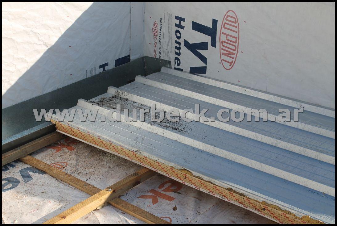 Instalacion Paneles Termicos De Poliuretano 50mm Sobre Listones