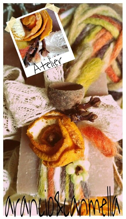 ORANGE & Cinnamon for Christmas! Atelier Cristina P