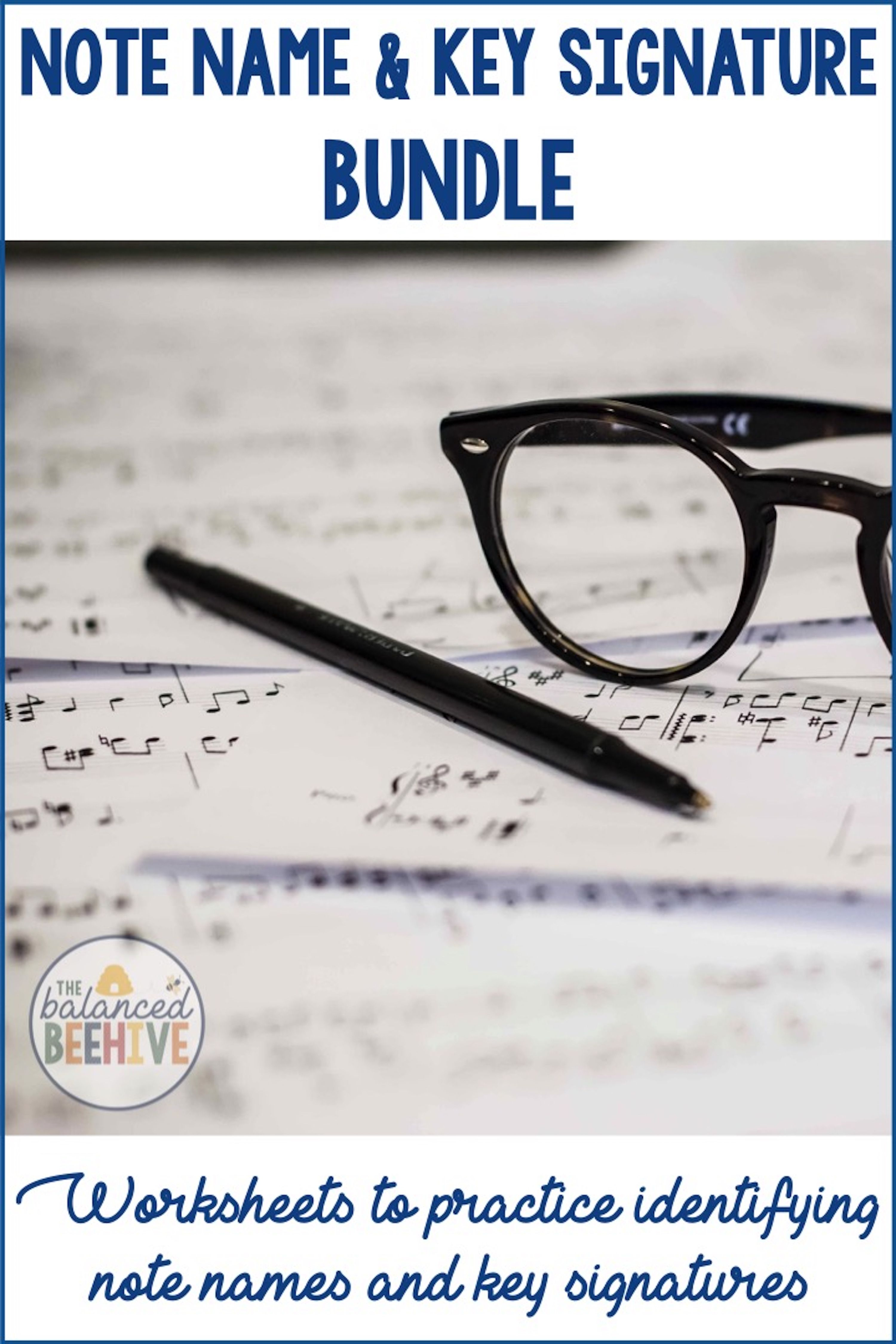 Note Name And Key Signature Worksheet Bundle Worksheets And Students