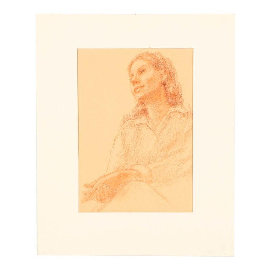 7d1729c1ebe9049d92e144be590d2438 » Famous Conte Crayon Drawings