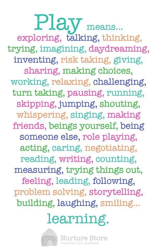 A Great Reminder Of All The Skills Our Children Are Asked To Access Beauteous Childcare Quotes