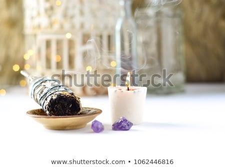 Natural Purple Amethyst Stone Palm Stones Tumbled Stone