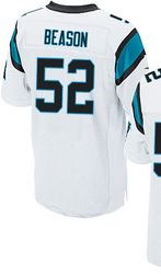 "$78.00--Garry Williams White Elite Jersey - Nike Stitched Carolina Panthers #65 Jersey,Free Shipping! Buy it now:click on the picture, than click on ""visit aliexpress.com"" In the new page."