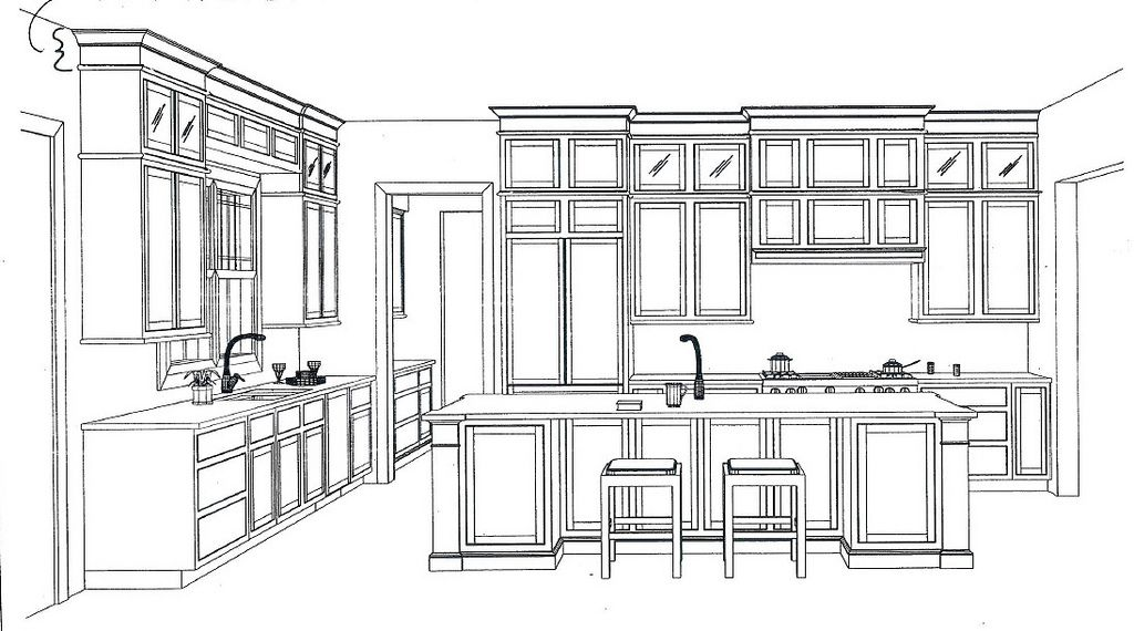 Kitchen Floor Plans With Island And Walk In Pantry ideas about kitchen floor plans with walk in pantry, - free home