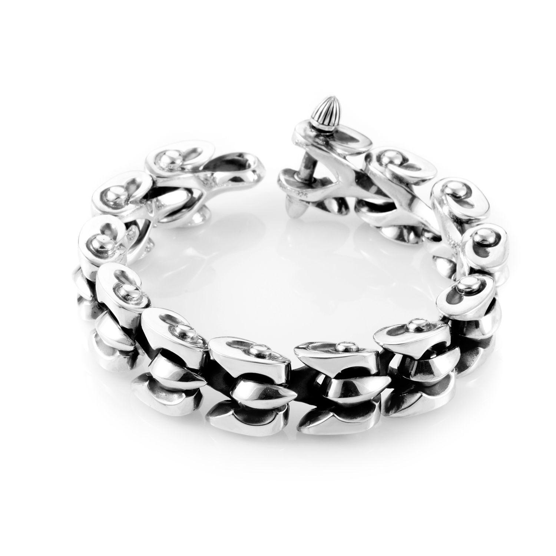 Stephen Webster Thorn Sterling Silver Men's Rivet Bracelet