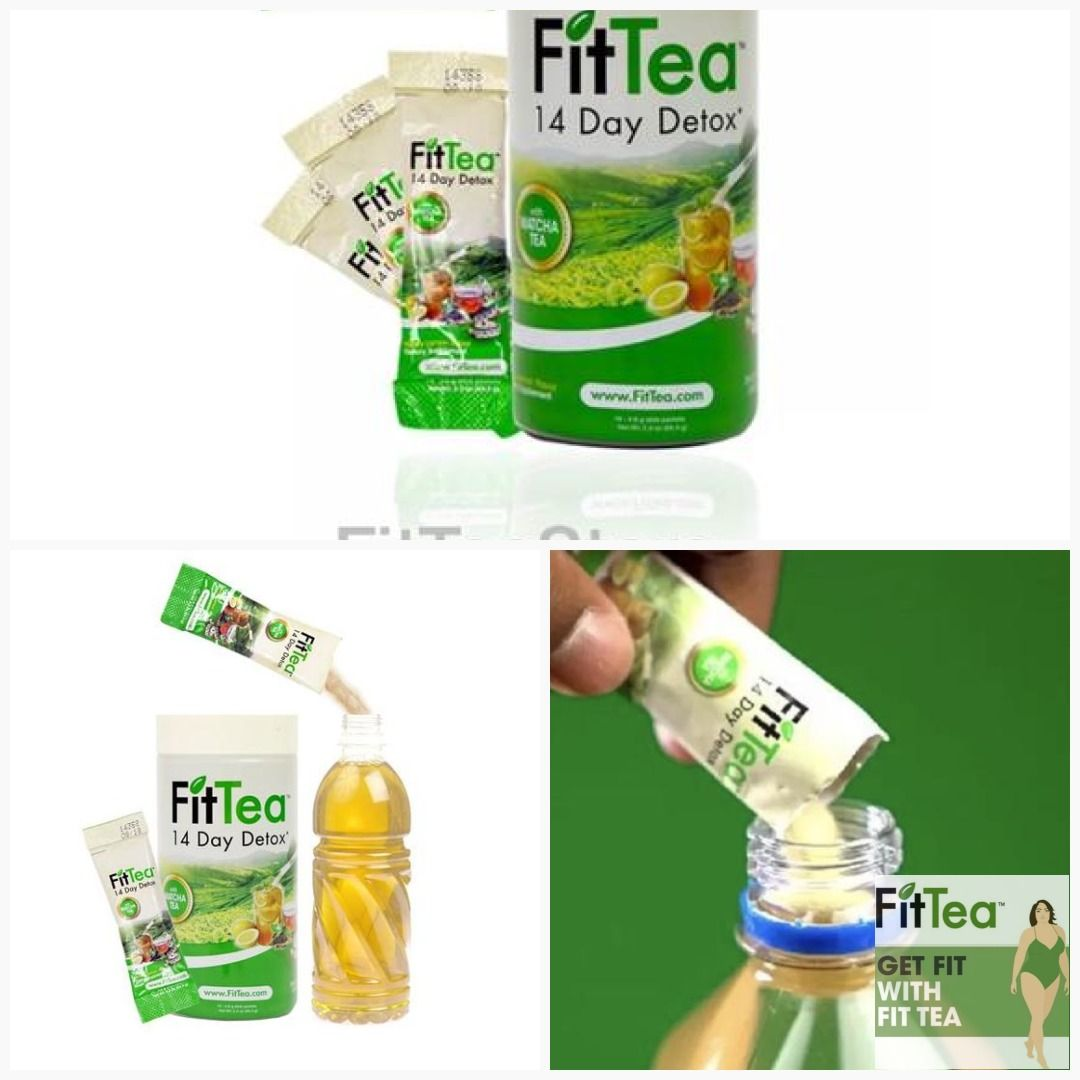 69af8cd86e6 FitTea 14 STICKS PER BOX - Detox Herbal Weight Loss Tea, Genuine, Sealed,