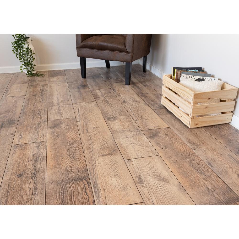 Home Decorators Collection Reedville Pine 12mm Thick X 8 03 In