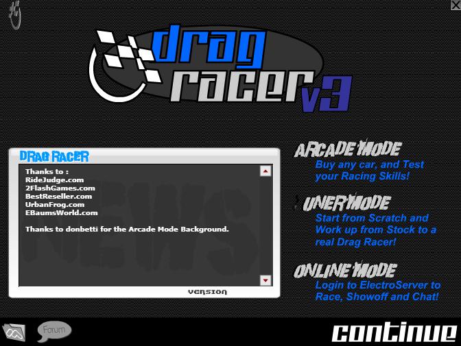 Drag Racer V3 Unblocked Games At School Social Bookmarking School Games Drag Racer