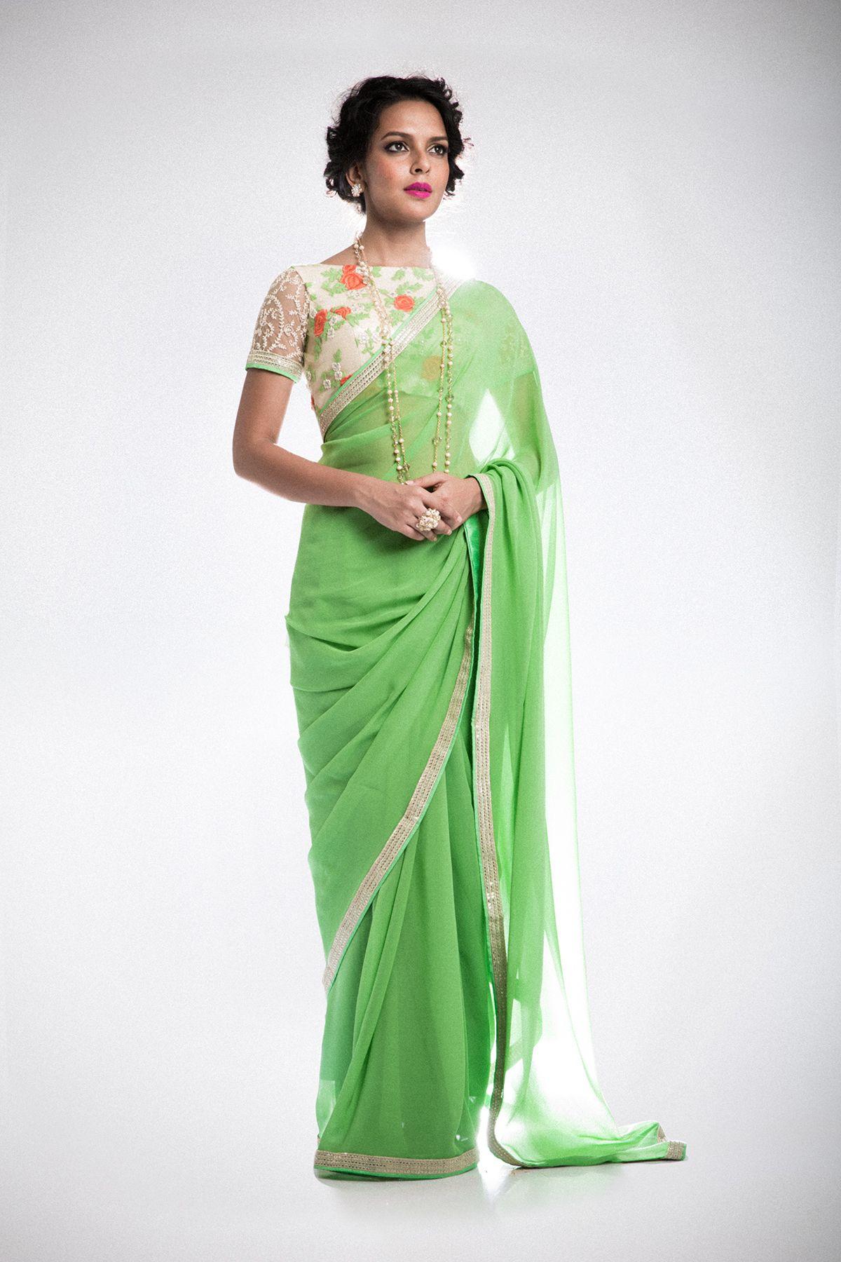 Women fashion saree swatimanish on behance  sareesblouses  pinterest  indian wear