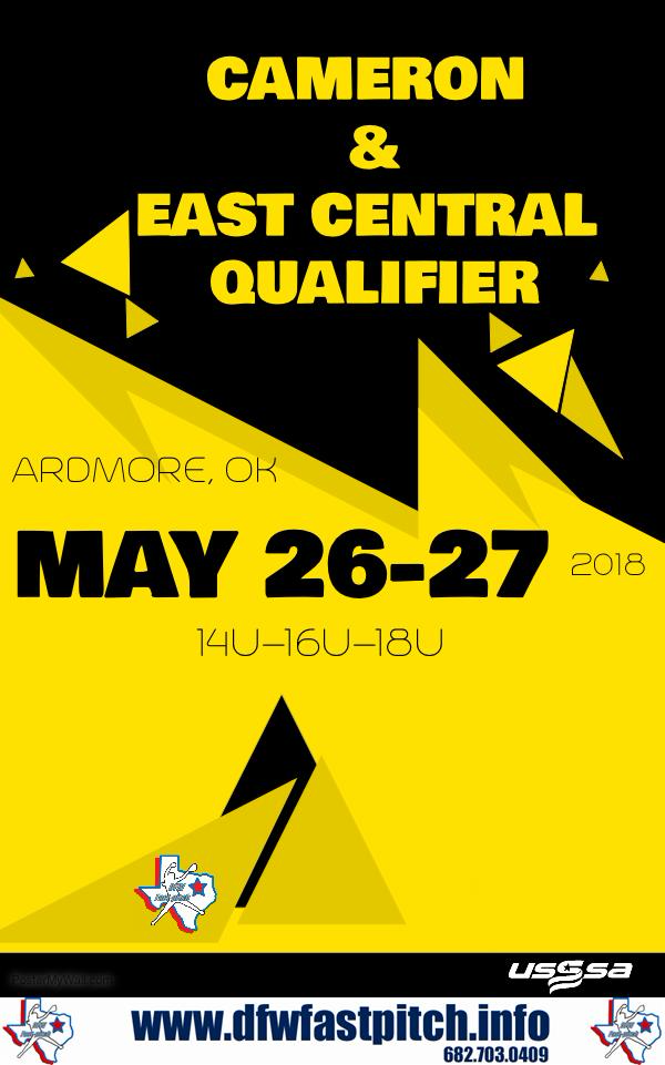Cameron/East Central University Qualifier will be taking