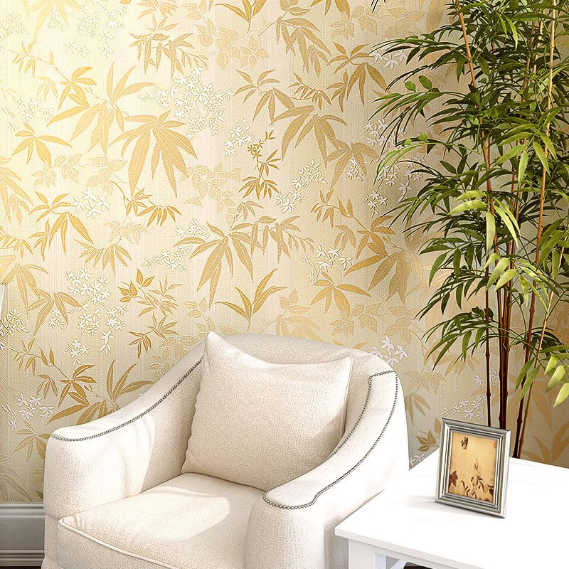 PAYSOTA Modern Chinese Bamboo Wallpaper Non-woven New Classical ...