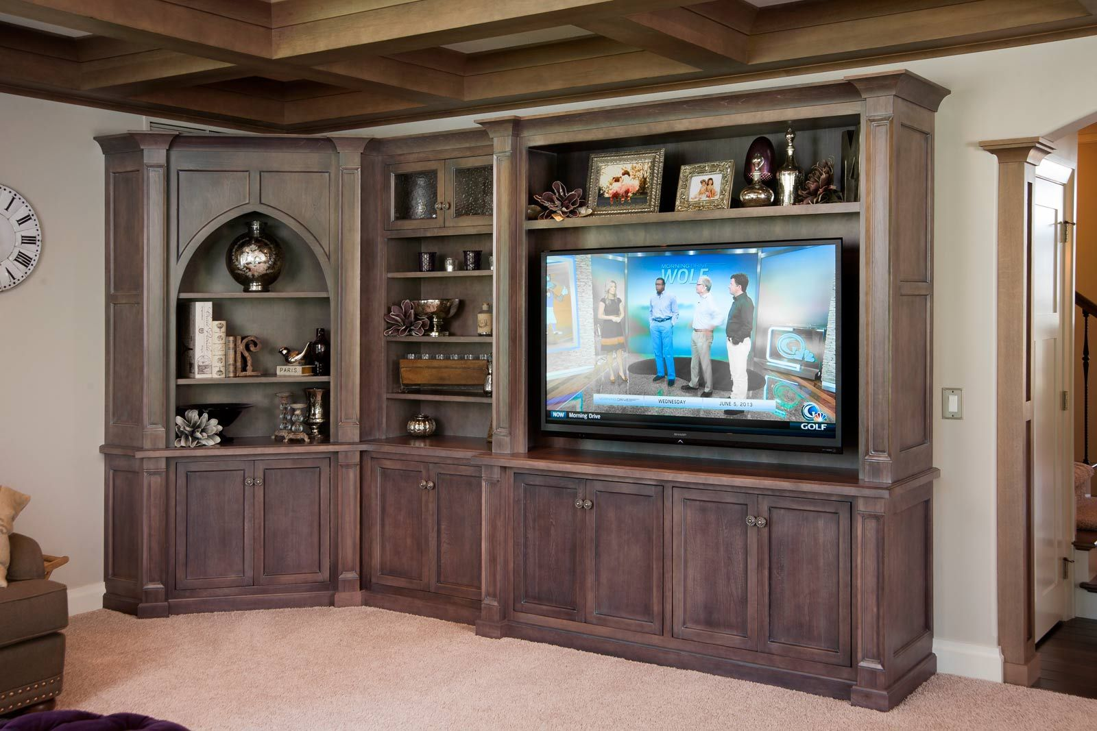 Mullet Cabinet Living Room Entertainment Area Crowned