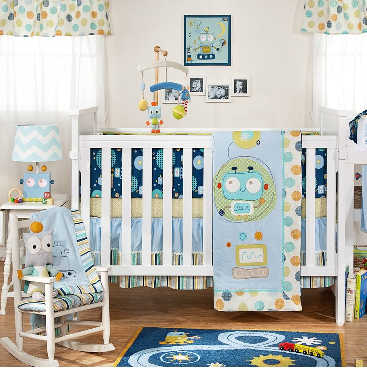 Lolli Living By Textiles Baby Bot Crib Bedding Collection