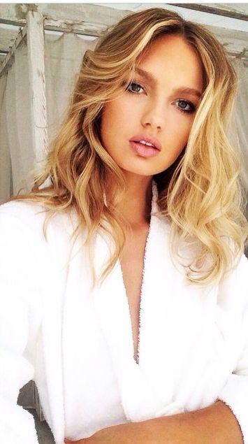 Zomers blond met beach krullen ❤️