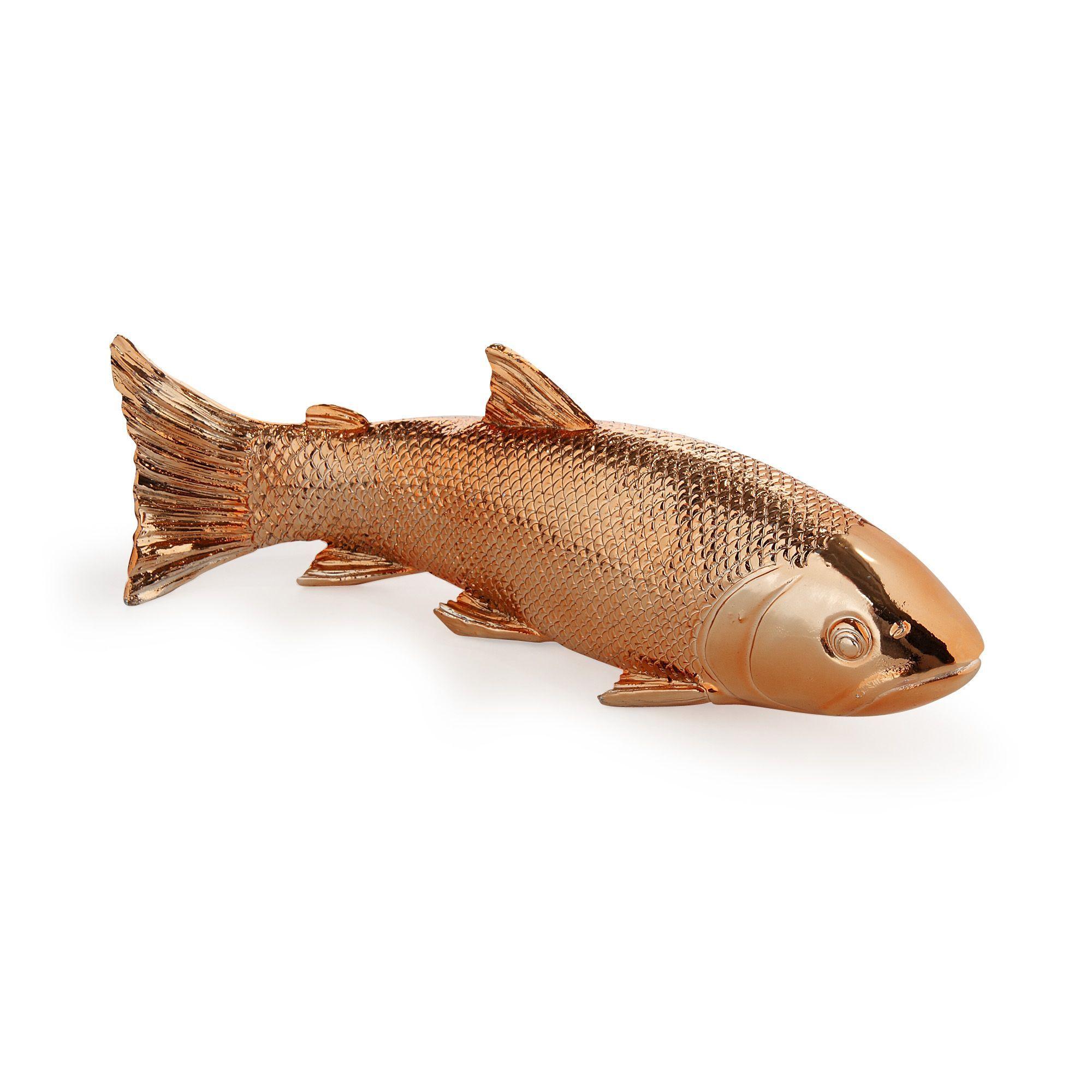 Objet Deco Poisson Coloris Cuivre 28cm Cuivre Fish La Decoration Murale Affiches Et Deco Murale Toute La Deco Deco Murale Salon Objet Deco Decoration