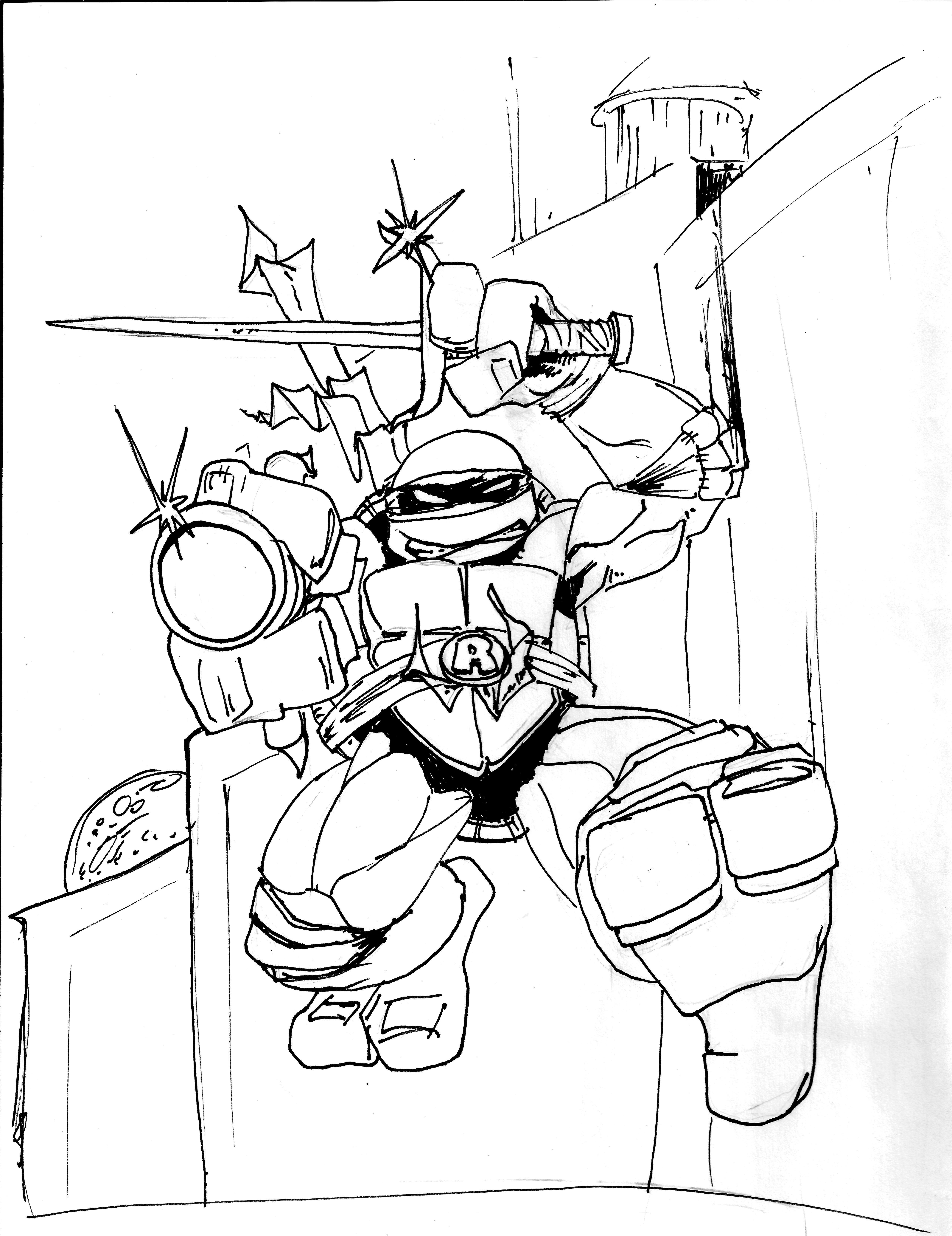 Teenage Mutant Ninja Turtle Raphael