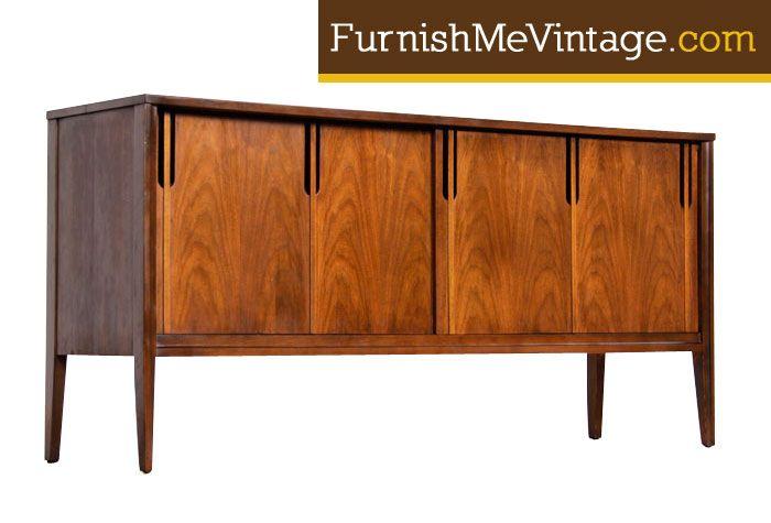 Restored Mid Century Modern Deilcraft Credenza Florida Furniture
