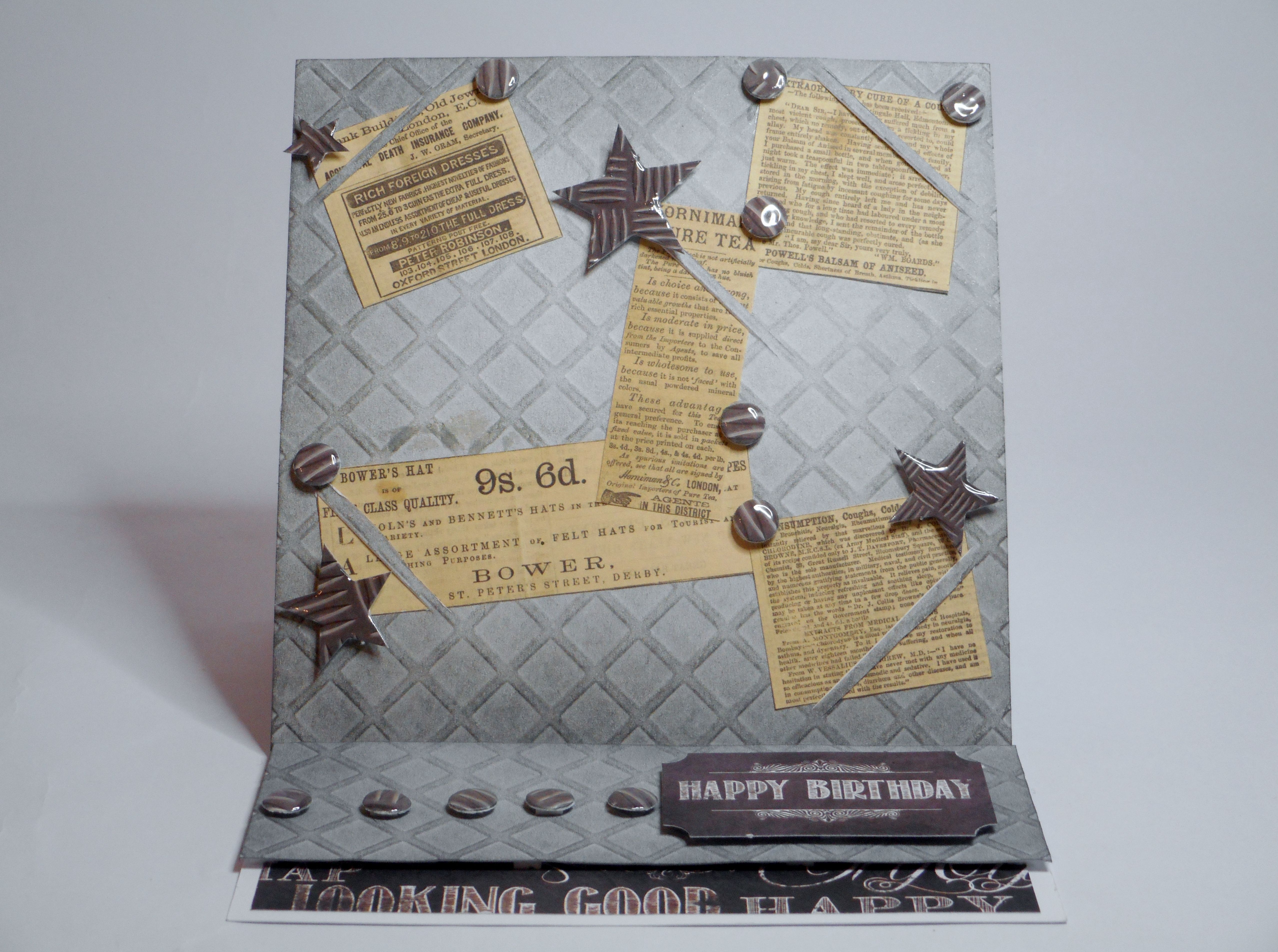 Card Making Ideas For Men Part - 34: Card Made By Phillipa Lewis Using Man Made From Craftwork Cards.