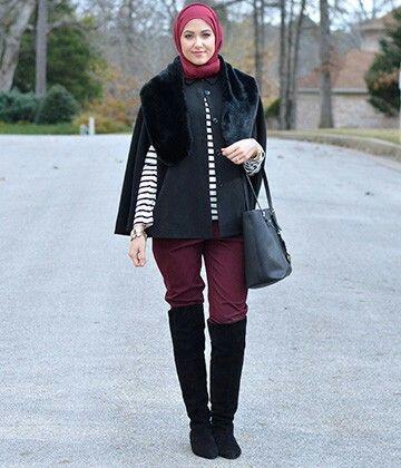 3 Tips Padu Padan Boots Bagi Hijabers Orami Magazine Hijab