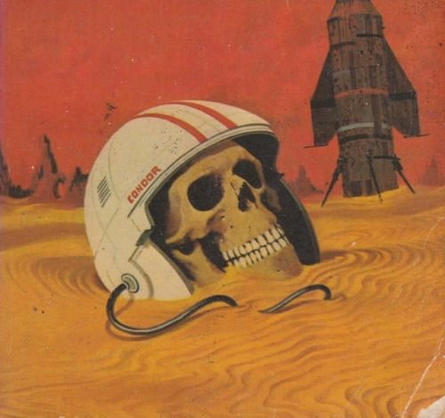 Uncredited cover for the 1975 edition of Stanislaw Lems The Invincible