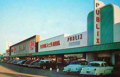 Publix Central Plaza St Petersburg 1970s My Florida