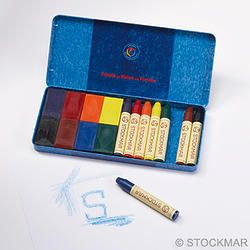 Stockmar Combined Assortment 8 Crayons + 8 Blocks