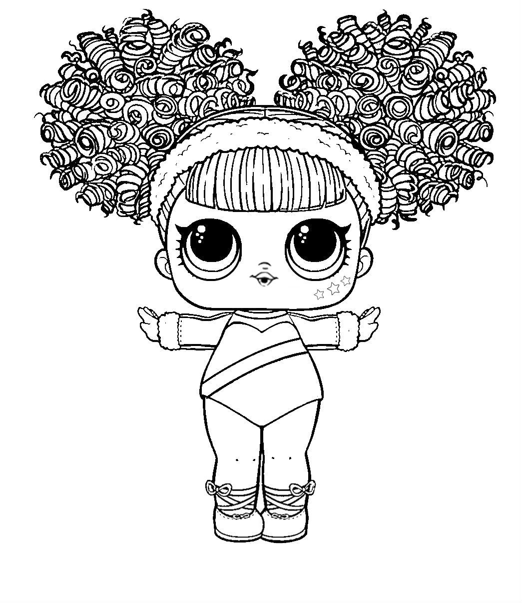 Lol Surprise Coloring Hairgoals Splits Cute Coloring Pages Lol Dolls Coloring Books