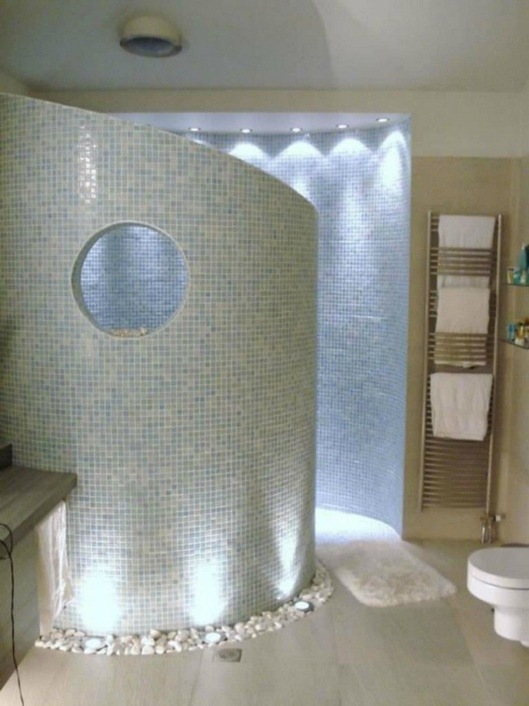 35 Exciting Walk In Showers That Add A Touch Of Class And Boost Aesthetics Showerroom Bathroom Bathroomde Showers Without Doors Shower Remodel Shower Doors