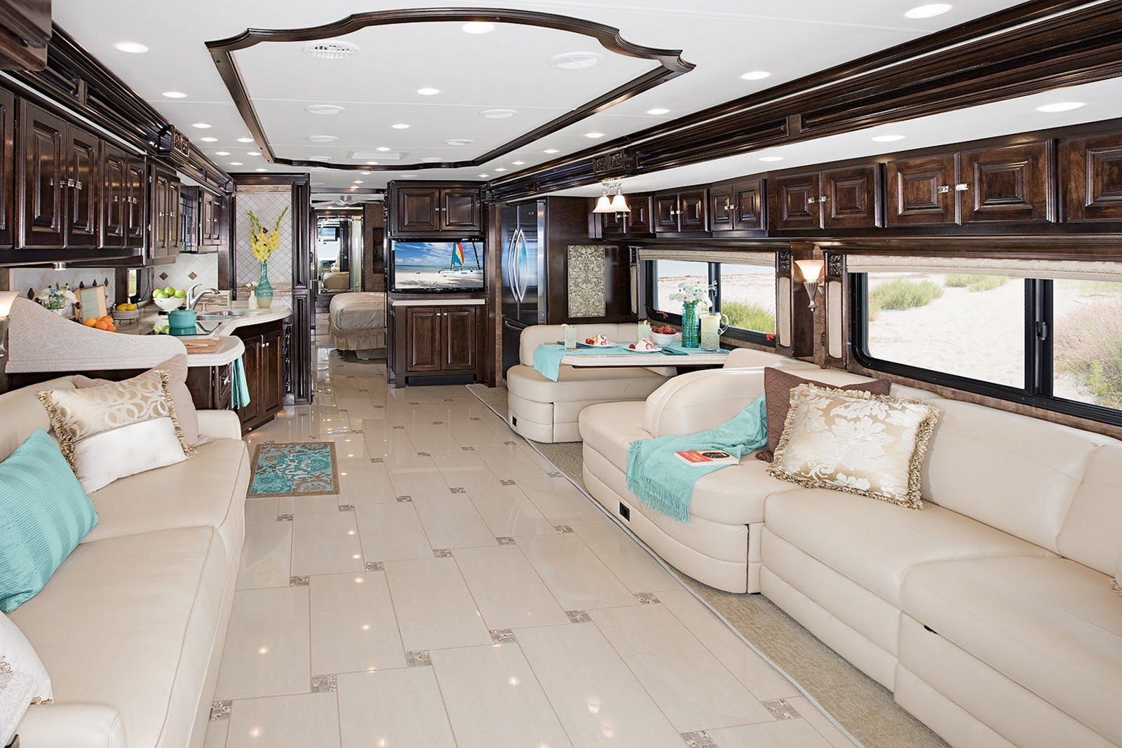 25 Luxurious Motorhomes Interior Design Ideas With Best Picture