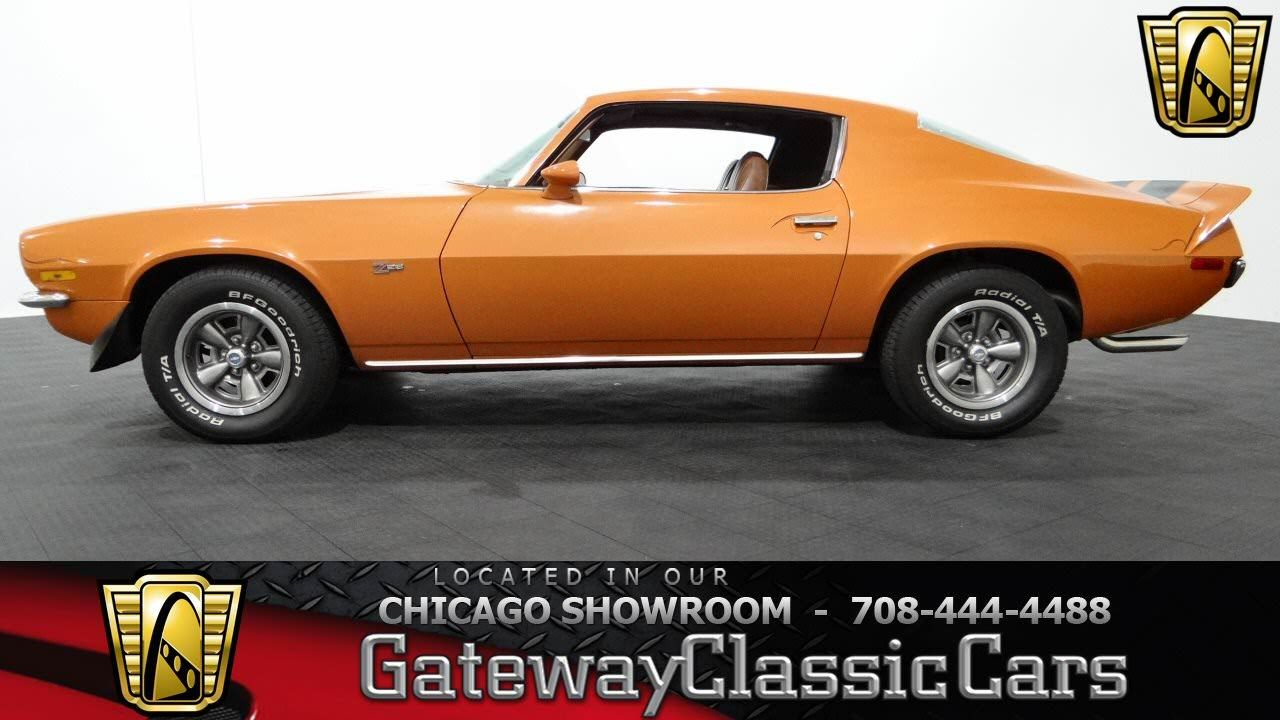 1973 Chevrolet Camaro Z28 Gateway Classic Cars Chicago #834 ...