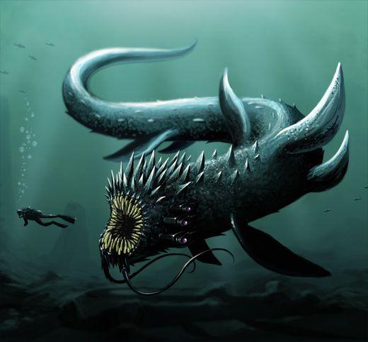 sea monsters | sea monster