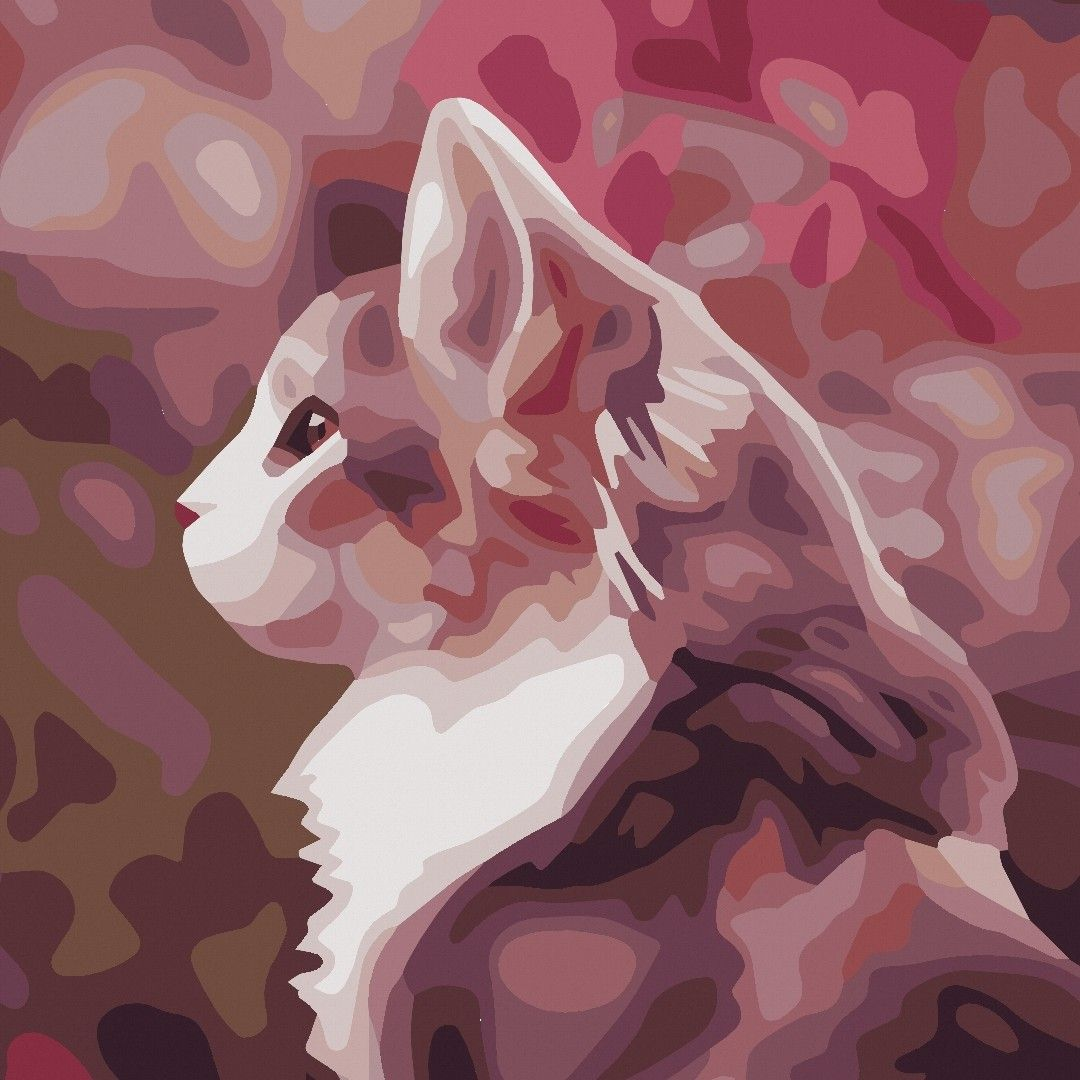 Katze Im Profil April World Cat Day Cat Day и Color