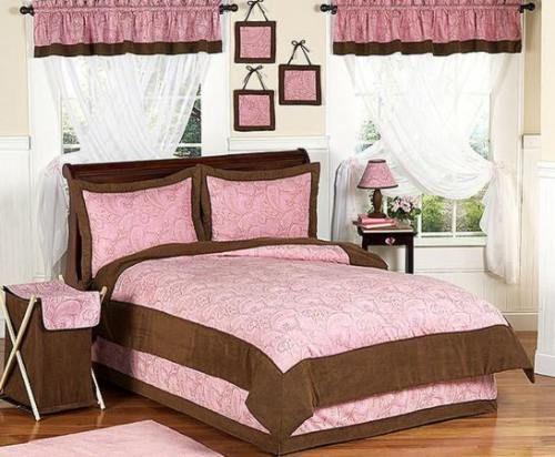 Rosa y Marrón para el Dormitorio de las Niñas y Jovencitas | BROWN ...
