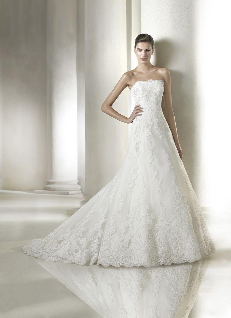 Vestido de novia San Patrick modelo América | Tu Vestido de Novia ...