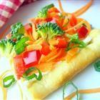 Garden Veggie Pizza Squares- Great Appetizer!