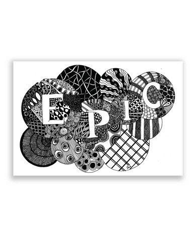 Epic chrono poster