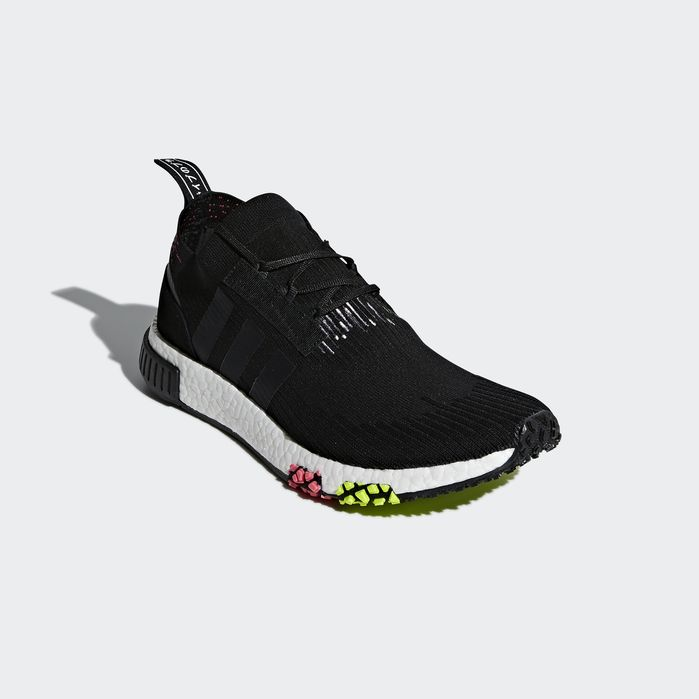 NMD_Racer Primeknit Shoes Black 10.5 Mens | Products