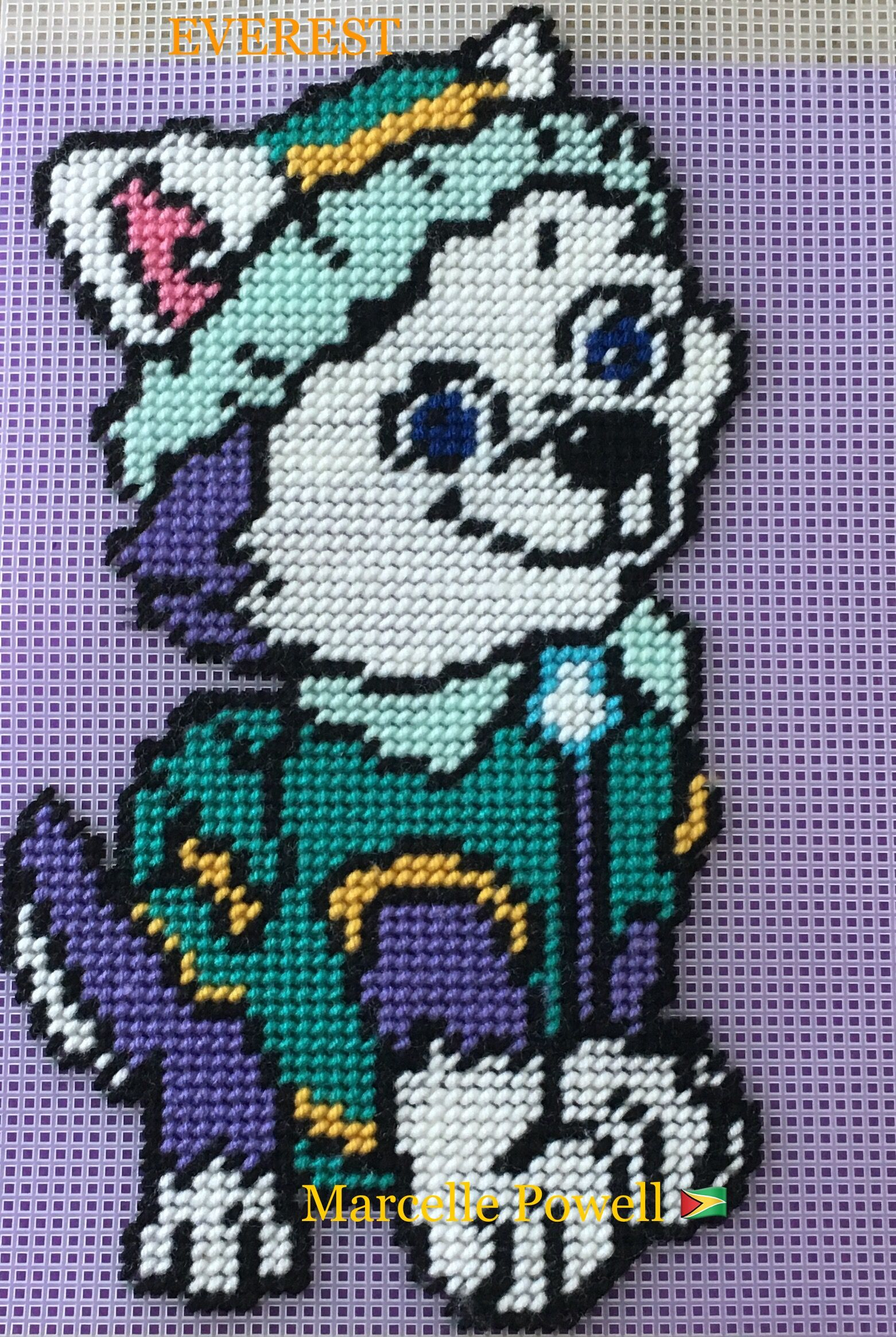 Marcel Afghan Knitting Pattern : Paw Patrol (EVEREST) by Marcelle Powell ? my patterns ...