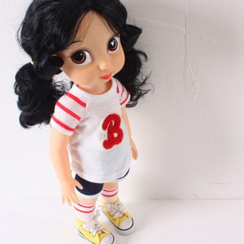 Disney Baby Doll Clothes//Tee+Skirt+Socks//Animator/'s collection Princess 16 inch