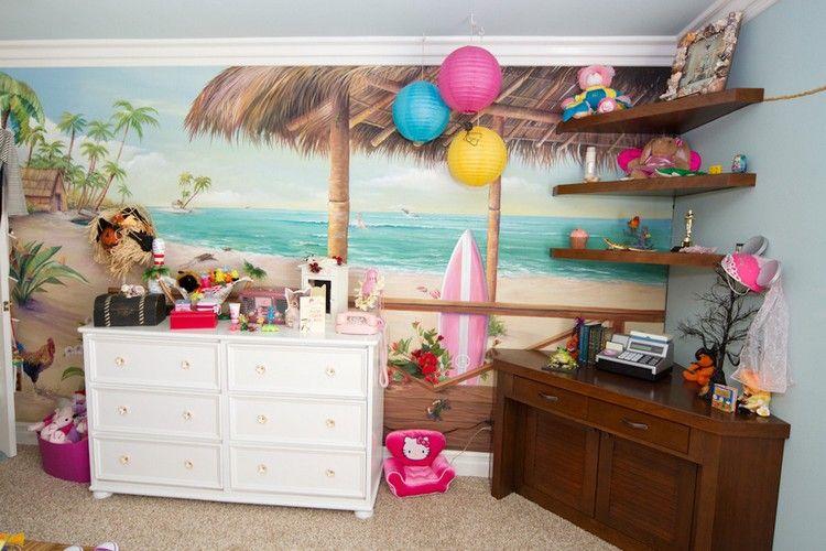 Kinderzimmer Deko 50 Ideen zum Motto Surfen und
