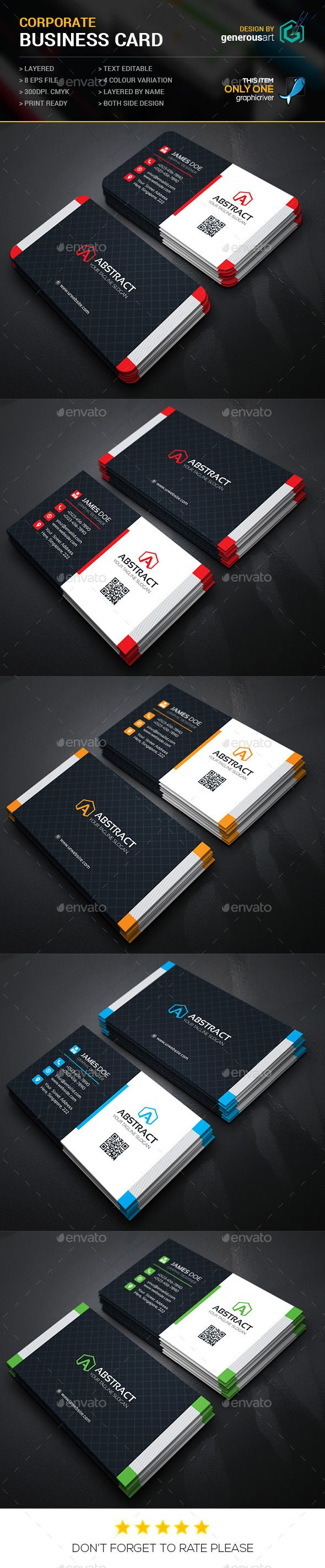 abstract business cards corporate business card templates and