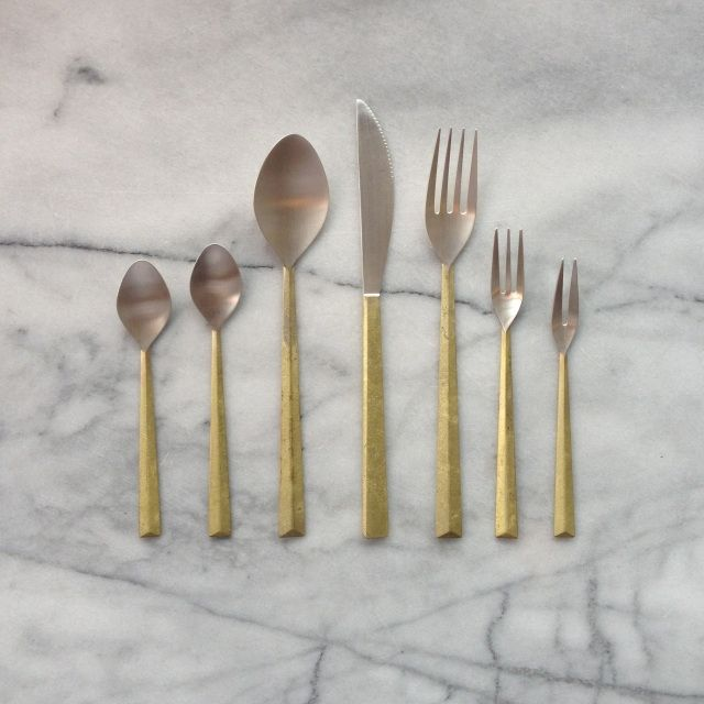 Japanese Brass Flatware Featured Products - The Foundry Home Goods |  Minneapolis