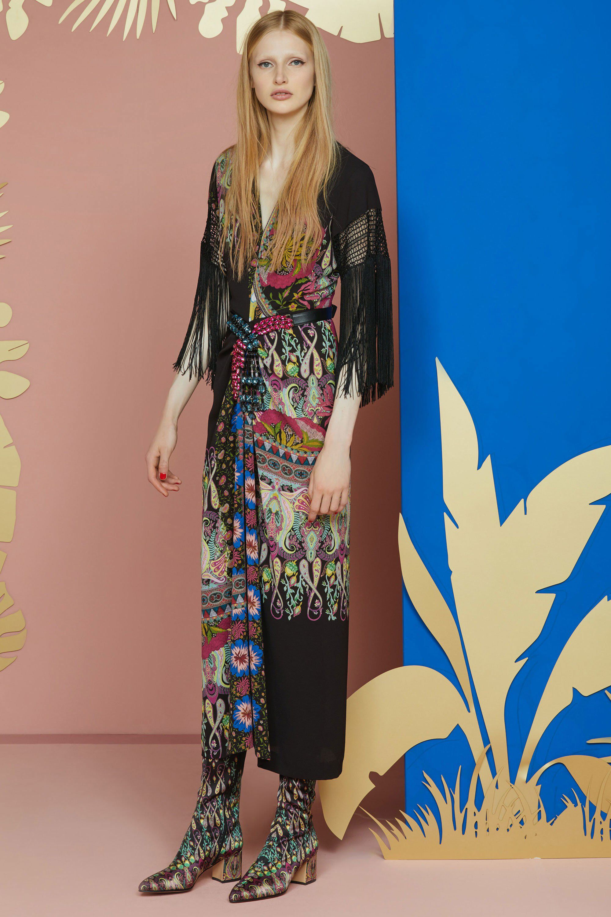 Etro resort fashion show resorts designer collection and