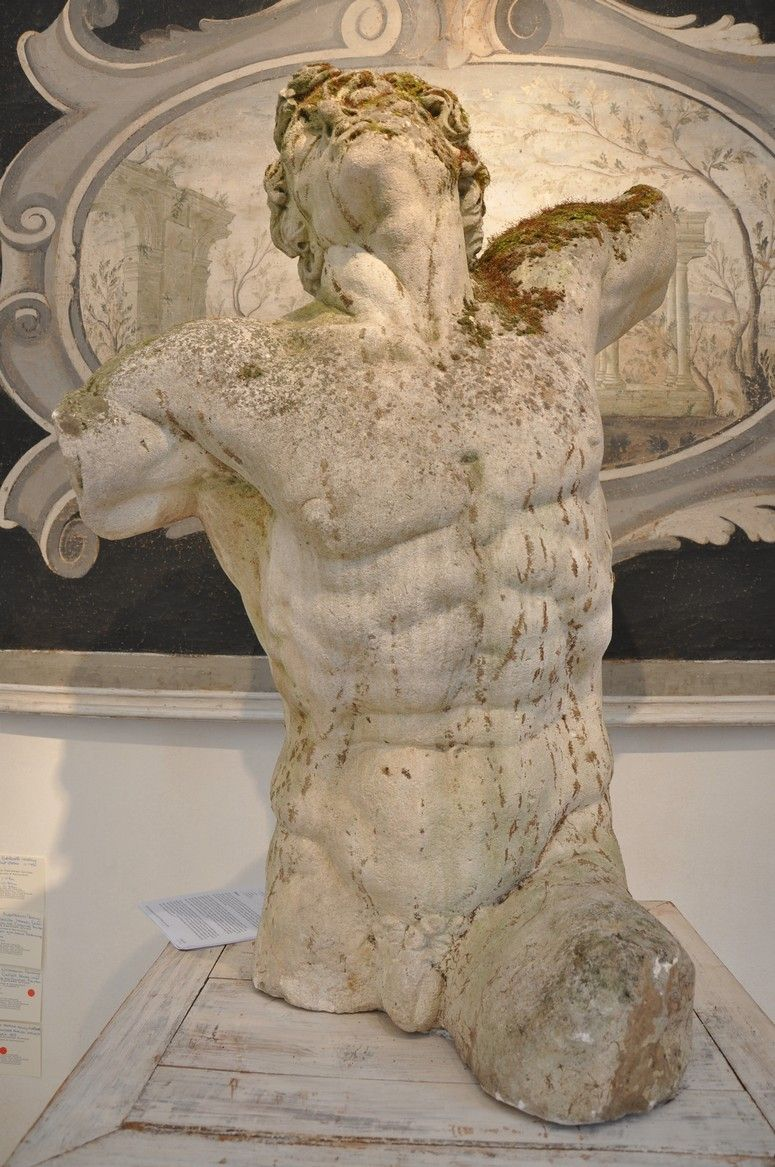 Artist unknown laocoon unearthed in muzska figura
