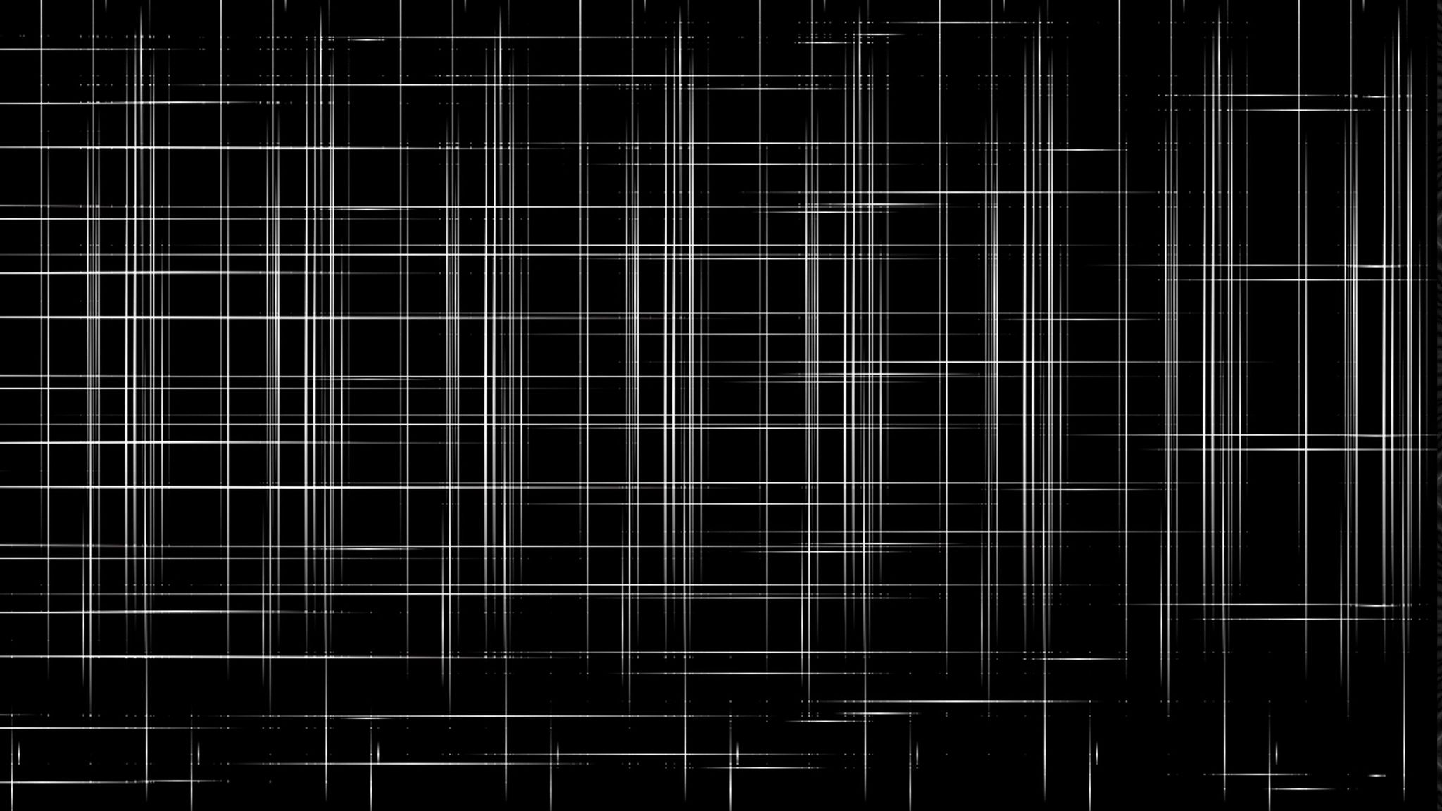 2048x1152 Wallpaper Mesh Black Background Abstract