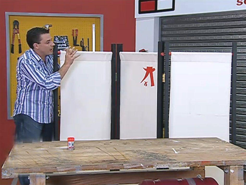 Hacer un biombo es facil simo biombos o separadores de - Ideas para biombos ...