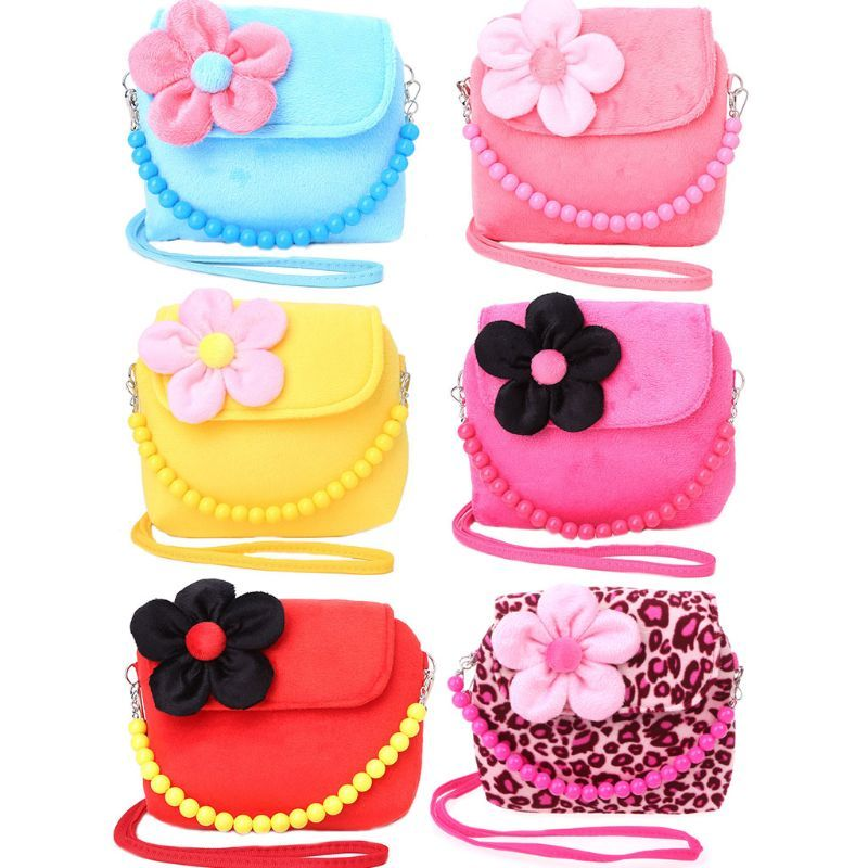 9c98b3ba4 Bolso de hombro niños niñas princesa flor mensajero bolso encantador  monederos perlas cinturón niños niña encantadora bolsos en de en  AliExpress.com ...